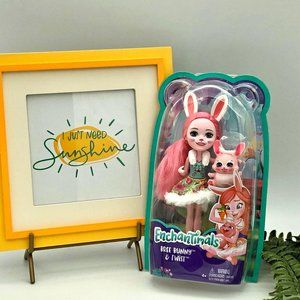 New Enchantimals Bree Bunny and Twist Doll